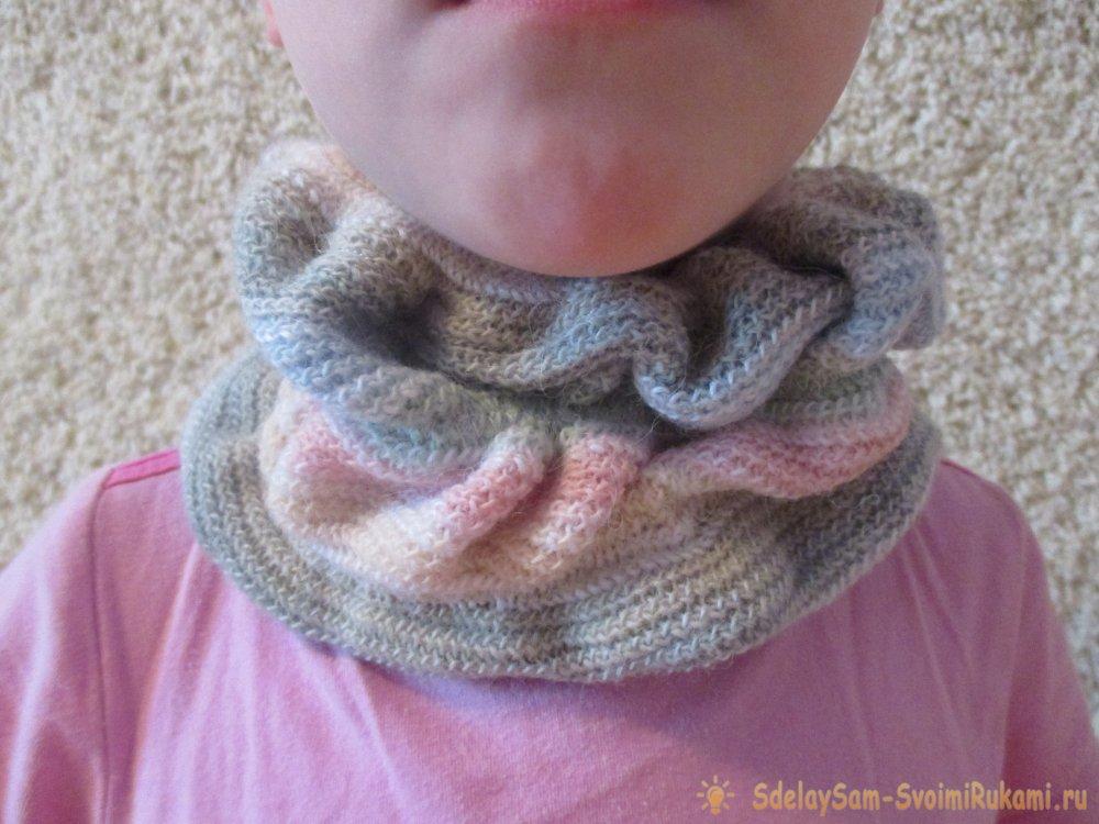 Сшить шарф для ребенка 74