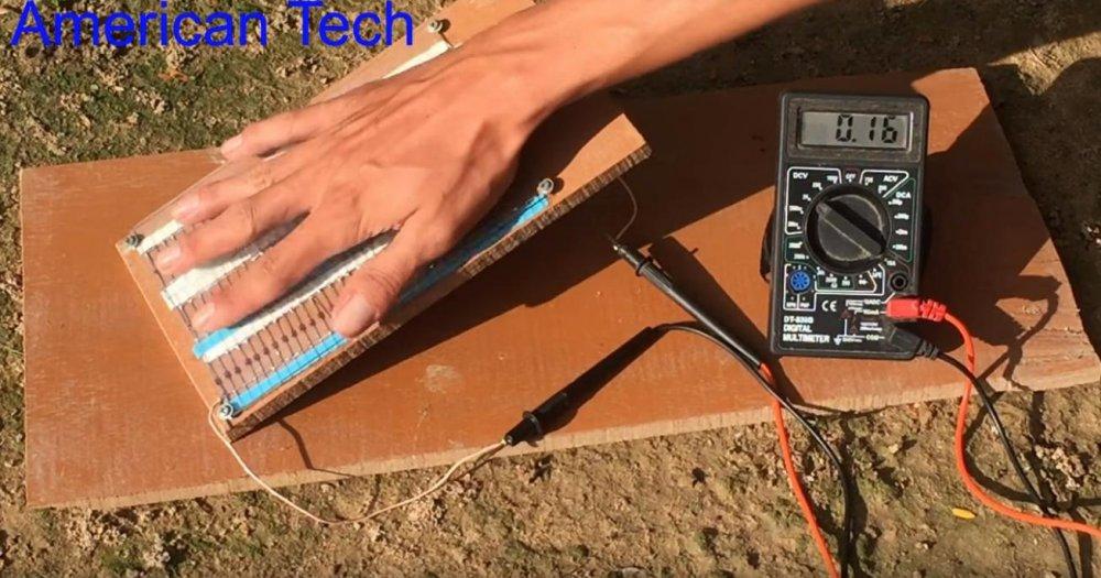 Своими руками солнечная энергия из диодов 1