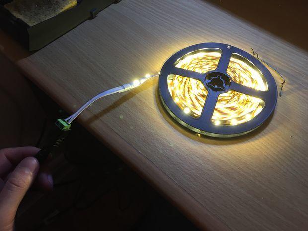 Подсветка с датчиком движения своими руками
