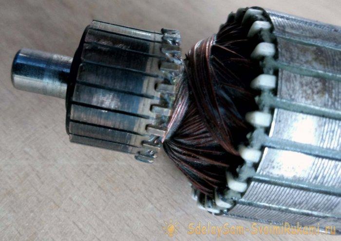 Как проверить якорь электроинструмента в домашних условиях