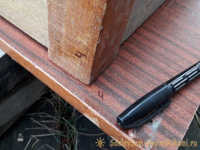 Реставрация старого убитого стола