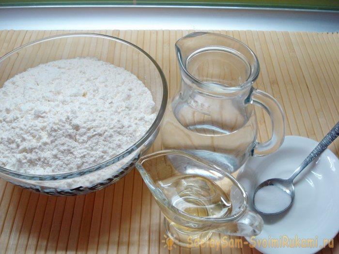 Тонкий армянский лаваш в духовке