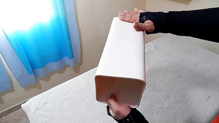 Как круглую трубу ПВХ превратить в квадратную