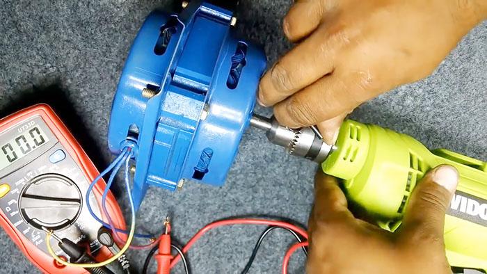 Как переделать любой асинхронный двигатель в генератор