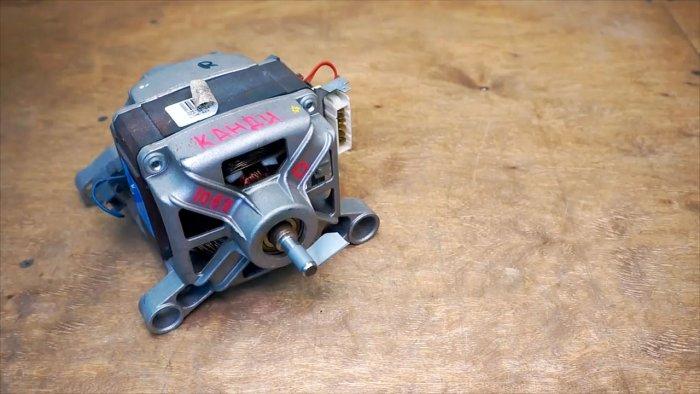 Подключение двигателя стиральной машинки введение реверса и регулятора оборотов