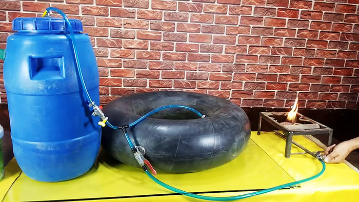 Простая биогазовая установка своими руками