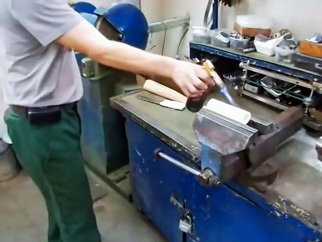 Не хуже чем заводская: Ручка для ножа из полипропиленовой трубы
