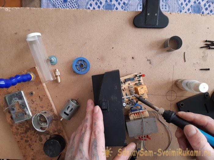 Как сделать электроточилку для ножей