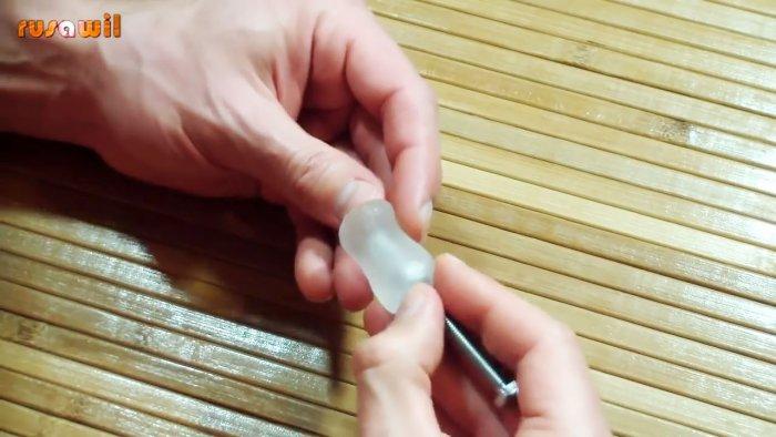 Как быстро сделать шарнир для точилки ножей