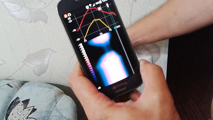 Детектор скрытой проводки из смартфона