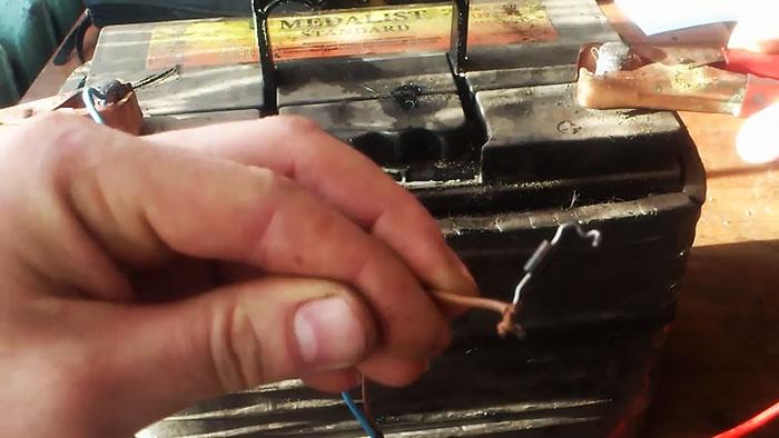 Как зарядить аккумулятор без зарядника