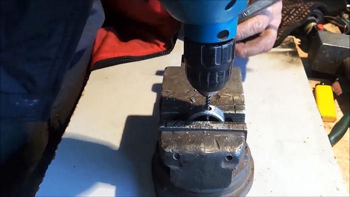 Как сделать сверло из подшипника для сверления каленой стали