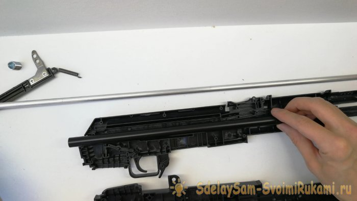 Как сделать светильник АК-47