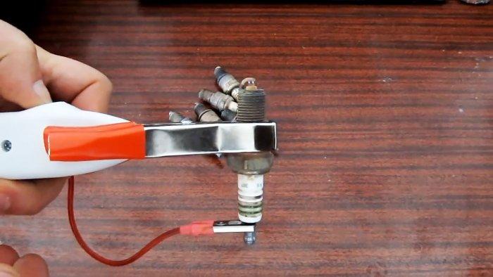 Как сделать простейший прибор для проверки свечей зажигания