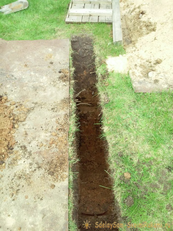 Как подвести воду к дому без экскаватора и команды землекопов