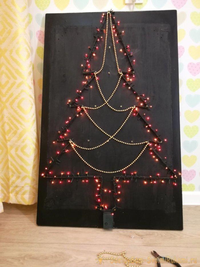 Как сделать «антикошачью» новогоднюю ёлку