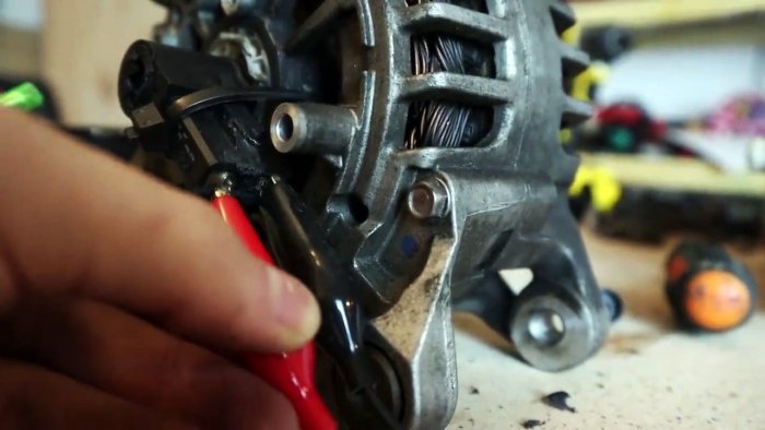 Переделка автомобильного генератора в мощный электродвигатель