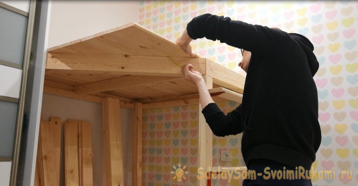 Как построить детский игровой домик