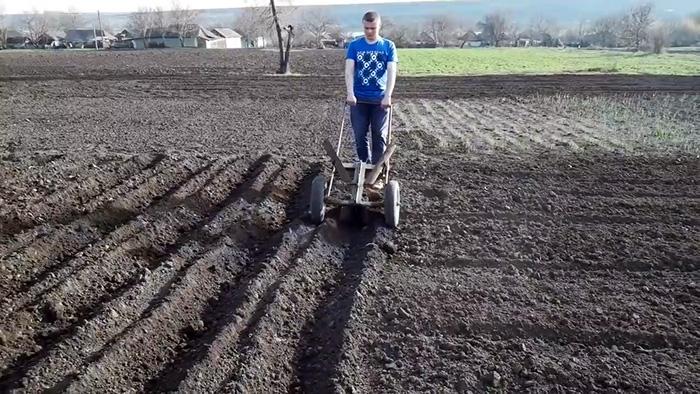Как быстро сажать картофель