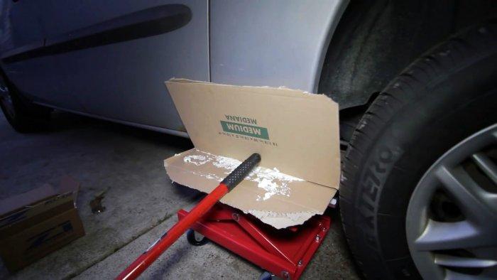 Без сварки латаем огромные ржавые дыры в кузове быстро и дешево