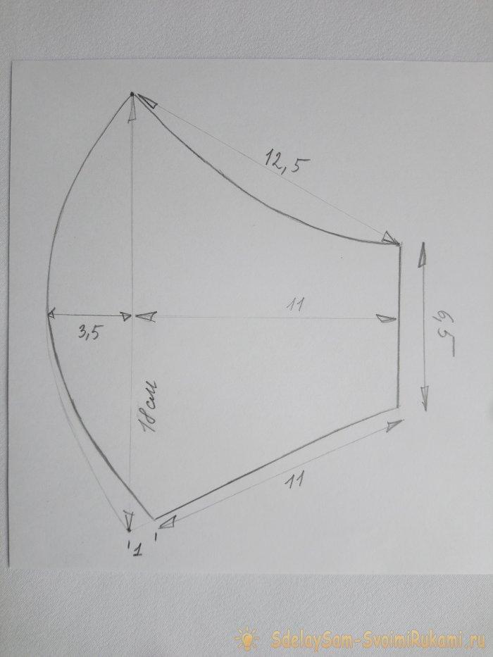 Подробный мастер-класс по изготовлению легкой удобной маски из футболки