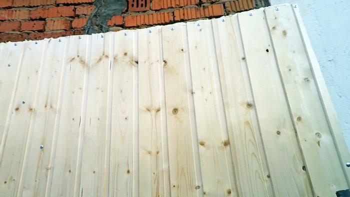 Ворота теплее стен Как грамотно утеплить металлические гаражные ворота