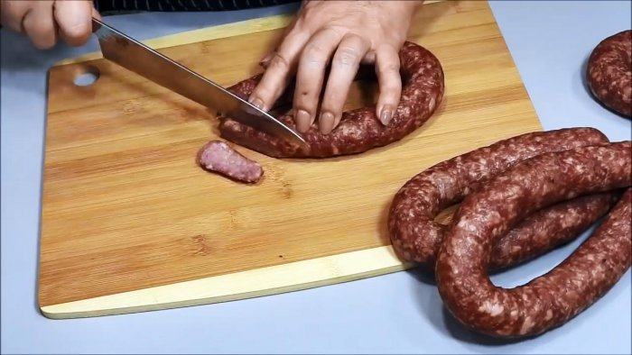 Домашняя краковская колбаса в духовке. Вкус из советского детства