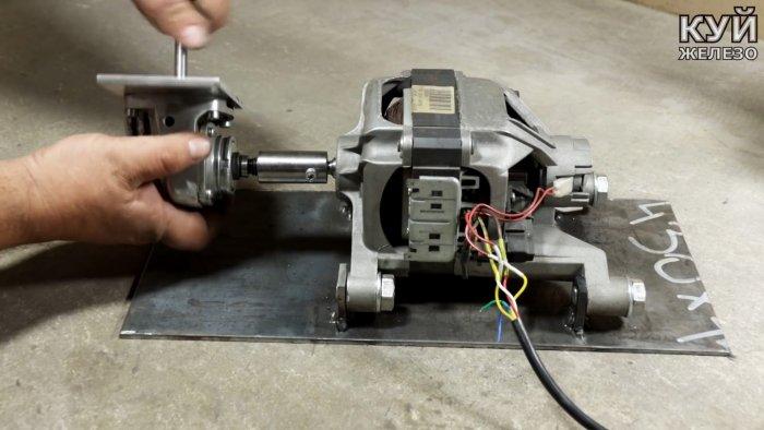 Как повысить силу движка от стиральной машинки или увеличить ее обороты в 3 раза