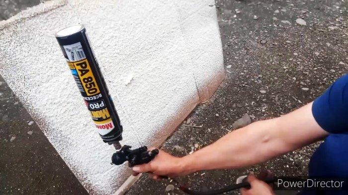 Как сделать пенораспылитель из краскопульта