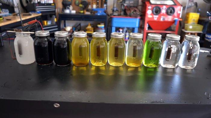 Тестируем 10 популярных растворов для удаления ржавчины
