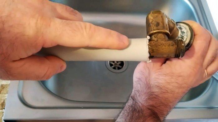 Как сделать резьбовое соединение полипропиленовых труб разного диаметра