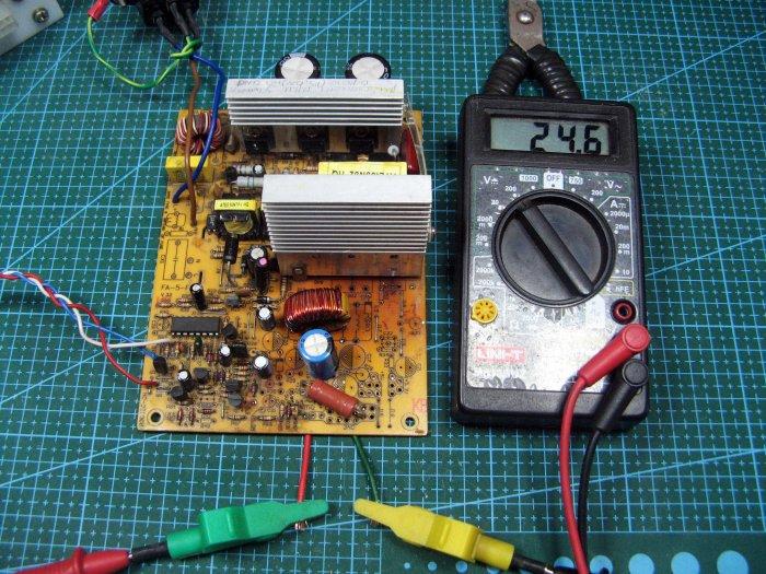 Простая переделка АТХ в зарядное устройство