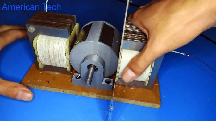 Как из трансформаторов сделать генератор на 220 В