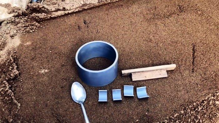 Как просто и почти без затрат сделать цементные горшки под домашние растения