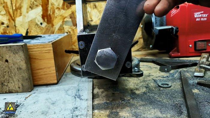 Как сделать шестигранное отверстие в толстой стали в гаражных условиях