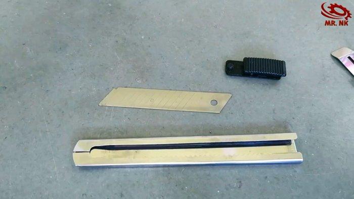 3 лайфхака использования обломков полотна ножовки по металлу