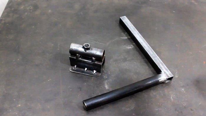 Как из хлама сделать сверлильную стойку для дрели способную сверлить под любым углом