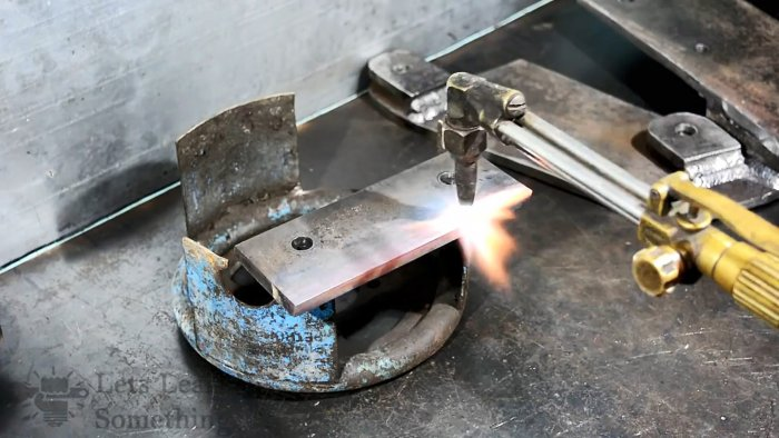 Как сделать мощные настольные ножницы по металлу