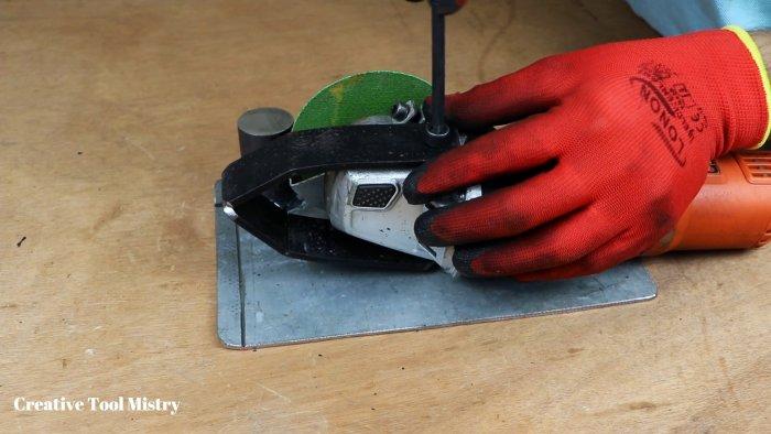 Как сделать из УШМ ручную циркулярку и торцовочный станок 2 в 1