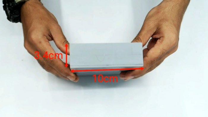 Как сделать ящик для инструментов из ПВХ труб