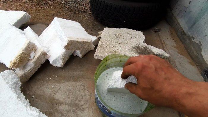 Как сделать дешевую водостойкую и износостойкую краску для бетона, кирпича или дерева