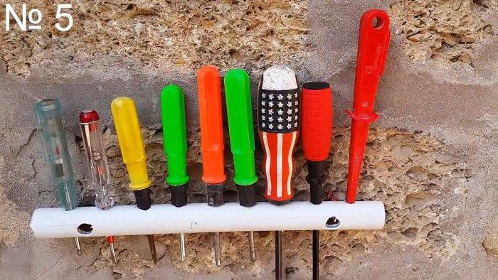 Что можно сделать из обрезков ПВХ труб? 5 полезных идей