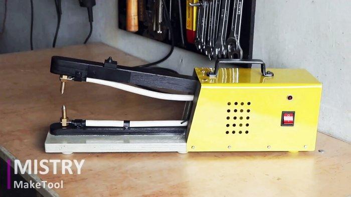 Как сделать аппарат для точечной сварки из трансформатора старой микроволновки