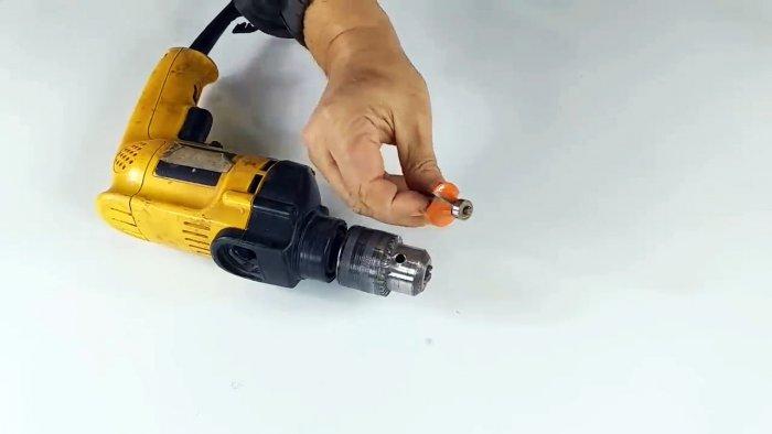 Как сделать съемное приспособление которое превратит вашу дрель в фрезер