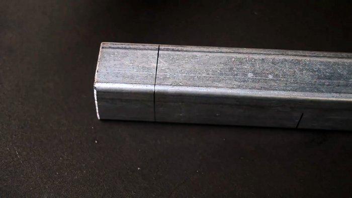 Полезные хитрости: способы красиво сварить три или четыре металлических профиля