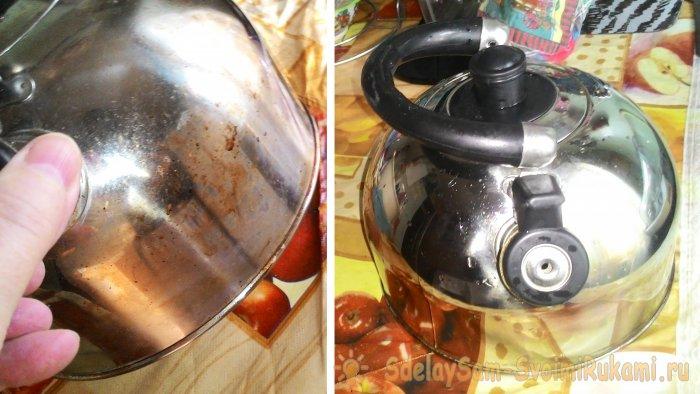 5 таблеток активированного угля и ваш чайник засияет чистотой