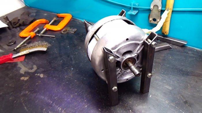 Как сделать заточной станок из двигателя старой стриалки