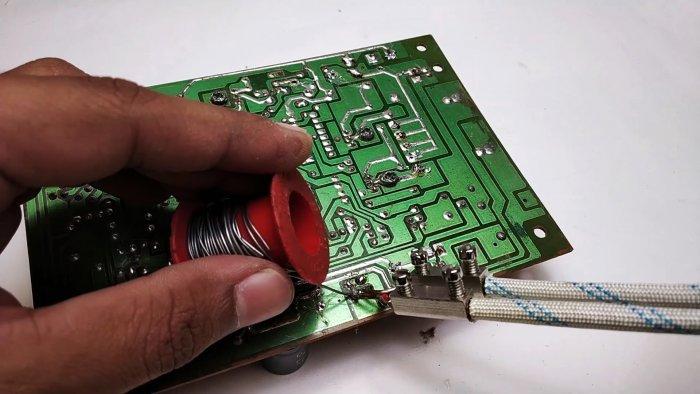 Как сделать паяльник с моментальным нагревом из старого трансформатора