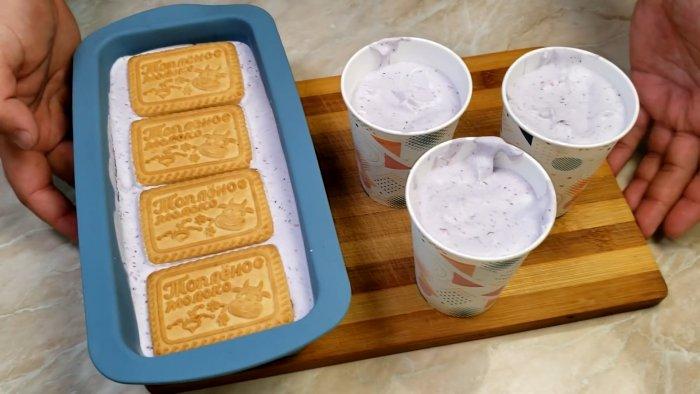 Сливки, сгущенка и ягоды - 3 ингредиента для вкуснейшего домашнего мороженного