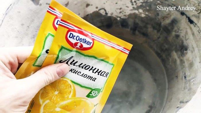 Как отмыть от раствора конкретно залежавшиеся шпатели и мастерки